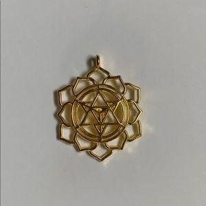 NWOT Metatrons Cube Pendant